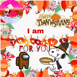 thanksgiving turkey amongus snoopy charlibrown vibes foryou freetoedit
