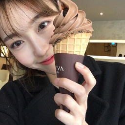 icecream cute girl eat kpop kpoper korean french leesomin