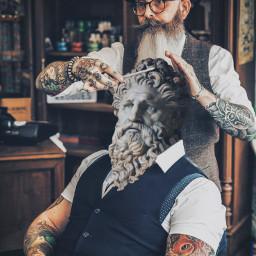 freetoedit barber barbershop beard beardman