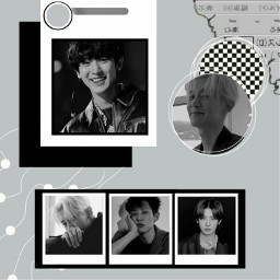 chanyeol exo aesthetic kpop black white freetoedit