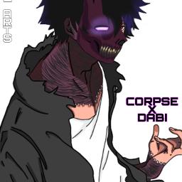 corpsehusband dabibnha fanart anime bnha