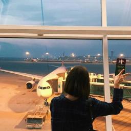 bff travel traveling comeback korea airport cute girl kpop kpoper korean french leesomin