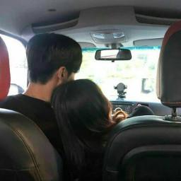 couple yeon_somin loveyou car korea cute kpop kpoper korean french leesomin