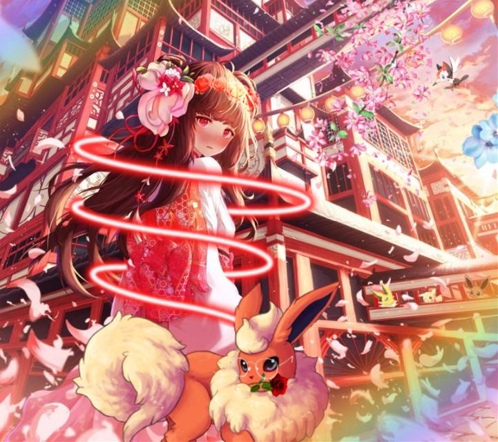 #pokemon #pokemonedit #anime #edit #animeEdit #Flareon #Pikachu #Eevee #Jolteon #eeveelution #SapphireSylvia
