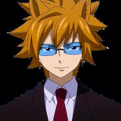 leo fairytail lion zodiac animemen asshole glasses freetoedit