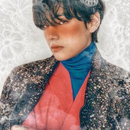 freetoedit taehyung bts bangtan kpop kimtaehyung jungkookawther v btsv tae btstaehyung edit picsart background army