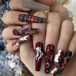 christmas christmasnails red rednails longnails superlongnails snapchat screenshot nails nailz nailart nailswag nailspassion nailsdesign nailsnailsnails nails2inspire nailstyle nailsoftheday sexynails hotnailart nailtutorial