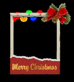 freetoedit navidad christmas merrychristmas polaroid luces lucesdenavidad focos foquitos remixit gold red papel paper