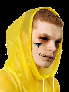 halloween spooky spookyseason horror it billskarsgård pennywise cameronmonaghan pennywisethedancingclown gotham jeromevaleska jeremiahvaleska dccomics batman itmovie itacoisa movie filme wallpaper clown fanart itchapter2 creepy yellow freetoedit
