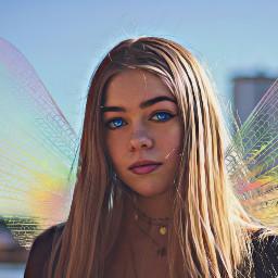 glow fairy rainbow shine magiceffect freetoedit