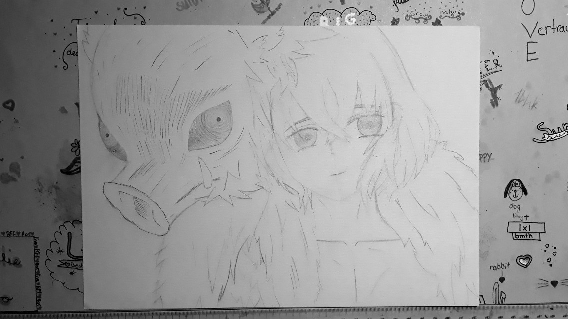 I made this for my best friend  Later I'll post the colored one:3 🌻*Taglist*🌻  {💖}@girlygirl27  {💎}@ninja_shoyo  {💫}@pizzalover5803  {🐾}@_itz_tokyo-chan_  {💚}@-iloveanime  {🌺}@_mery_grey_  {❄}@icyhawt  {🍣}@hai1kyu  {🌊}@-bakugou_katsuki-  {🍙}@a_fellow-anime_lover  {⚡}@marlin1305  {🎵}@xvictory08x  Comment if you want to be on my taglist, changed your name or want to be removed 😘