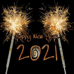 happynewyear 2021 happynewyear2021 midnight freetoedit srcnewyearssparks newyearssparks