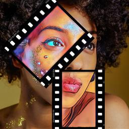 different melanin beautiful film freetoedit unsplash srcfilmstar filmstar