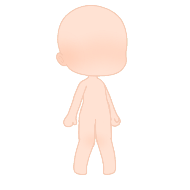 Gacha body 👀 #gacha #gachalife #gachaclub #life #club #body #base #pale #blush #pose #knees  #blank #empty #freetoedit