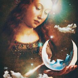 art moonlover dreamy magical stestyle ste2021 madewithpicsart love