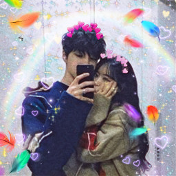 couplesselfie freetoedit