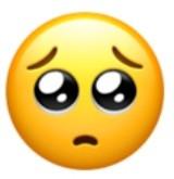 🥺 emoji #emoji #iphoneemojis #🥺