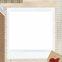 freetoedit polaroid rippedpaper kpop layers square love heart overlay colorful wallpaper background