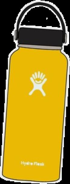 hydroflask vscogirl vsco vscoaesthetic yellowaesthetic basic freetoedit