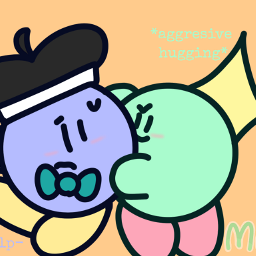 kirby cute wholesome kirbyoc whydoihavetoaddahashtag freetoedit