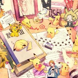 pikachu kaminari electricboy freetoedit