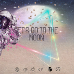 space wallpaper moon freetoedit