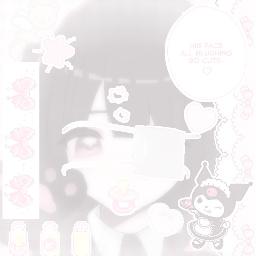 softedit kuromi kuromisanrio kuromicore babycore pinkcore