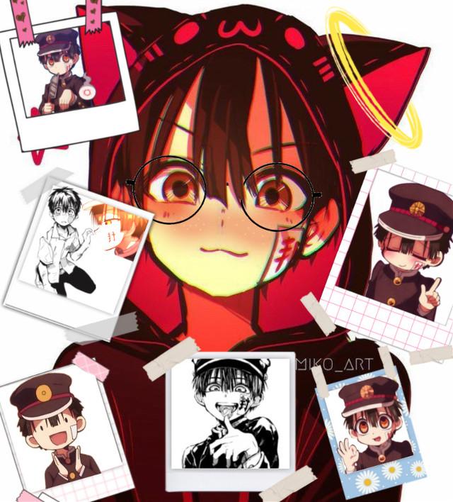 So cuteeeee -w-   #hanako #hanakokuntoiletbound #Edit #SapphireSylvia #hanakoWallpaper #wallpaper #Simp