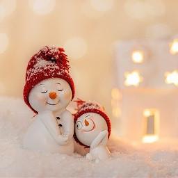 winter schnee schneemann weiss freetoedit