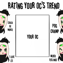 gacha gachalife gachaclub gachacluboc ocrating rating ratingyourocs trend pleaseremix freetoedit pogchamp poggers pog