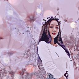 freetoedit minnie gidle idle minniegilde gidleminnie minnieidle idleminnie minnieedit gidleedit idleedit kpopidol kpopedit kpop korean korea koreanpop girl fairywings aesthetic cottagecore