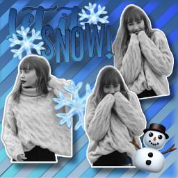 aitiiii blackandwhite blancoynegro letitsnow snow gracias rayas copos