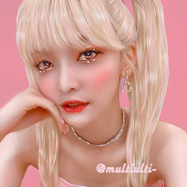 Aye new edittt☺️💗 I wanted to wait a bit before posting this but we hit 700 today so its a gift(apart from yangyangs rose lol) from me to you guys!  i hope you like it, i worked really hard on it🥺  👛type=manip 👛aesthetic= pink&elegant ig 👛person= Onda- Jo Serim- Everglow 👛my grade= oo im happy with how it looks, ima go with aaaa bittt less than 9/10  👛fave part= def the eyesss and i like the bangs too 👛hashtags= #kpop #kpopidol #kpopedit #onda #ondaeverglow #everglow #everglowedit #everglowonda #joserim #manipulationedit 👛creds= AESTAETIC on yt for tutorials i watched to make this and myself for the polarr filter 👀 👛time taken= welp the app says 2hrs 50mins 👛apps= ibis paint x and polarr 👛more= the lips are kinda messed up its hard to do theemmm oh its so satisfying to have a diff user on the watermark sjhsjk  Personal 👛mood=🙂 👛song= Monster by Irene and Seulgi yash 👛note=thank you for 700 followers again uwu    Blimeys💞   Long lost twin👯♀️: @itzzy_limelight Gf💘:@luvlimelights Daughter👩👧: @tae-kookiie Nicest person🧡: @rayray27wdw25 Pinterest pal🤠: @lovingjisung  Dimple simp😗:@sanieworld-  @landofthelimelights   @btssofts  @ssamracha  @ima_limelight  @lndn_  @rayray27wdw25  @leashipsandeditsuwu  @hcmqri-  @yyoonbyyeol   @yoonberryfiction  @kpop___lover222  @lyly_are_lyla  @cry_baby2008  @sree_jita @happypurplerose @anna63664 @scftangel_ @ruelfqn @taekooknochu @yeonjuuuunie @yourlittletzukook @itsnana- @dancedancewithme @blue_kpop123 @mbbya @dwaejin @kpop-blossom2468 @less_sleep_than_chan  if you want to join the taglist, comment 🎈or like my taglist post