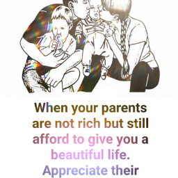 parents quote family love appriciated