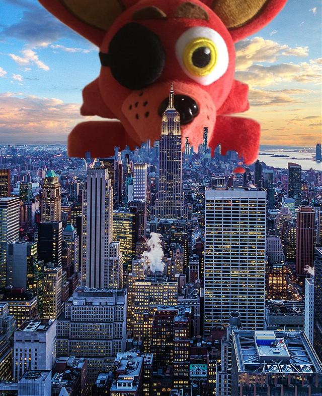 #foxy #newyork #fnaf