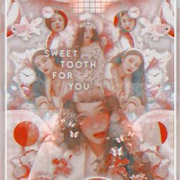 freetoedit 2 joy redvelvet joyedit sweettooth myedit kpop picsart hearts flower flowers heypicsart aesthetic pastel outside