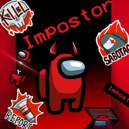 amongus red redamongus redcharacter redamongusedit redamonguscharacter wallpaper amonguswallpaper imposter scary freetoedit