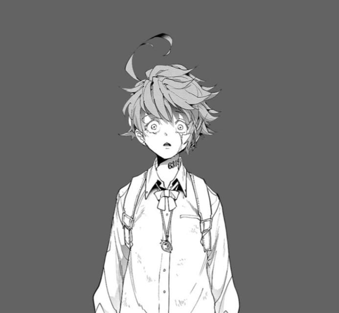 #emma #tpn #anime #thepromisedneverland #animeappicon #grey #white #black
