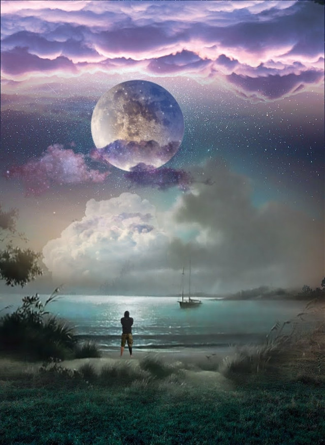 #myedit #fantasy #mystery #sky #landscape