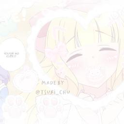 softedit anime animeedit msbeelzebub softcore babycore kawaii adorable couple