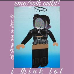 roblox grunge emo robloxgirl robloxaesthetic