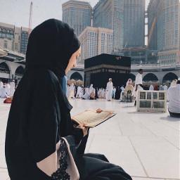 mekka medina kopftuch quraan follow