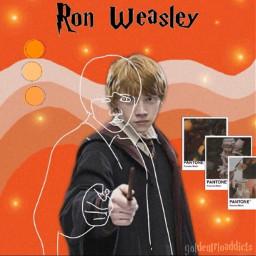 ronweasley goldentrio ron eatslugs bloodyhell freetoedit