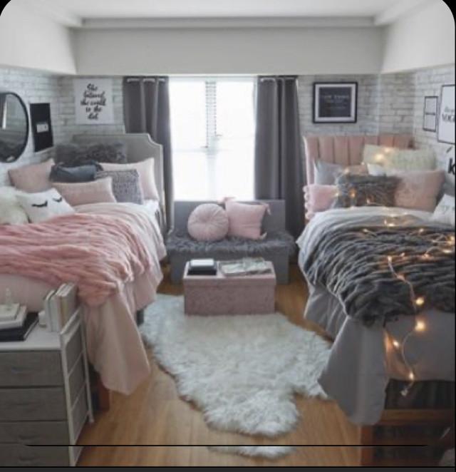 #bedroom #girlroom #room #twinroom