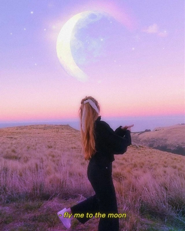 Subtle yet visually stunning edit by @idealartz 🌙✨ #moon #surreal #moonaesthetic #aesthetic #freetoedit