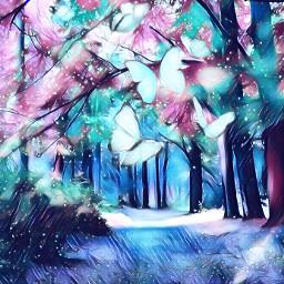 fantasy forest freetoedit