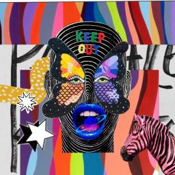 collage weirdcore oddcore maximalism maximalist freetoedit