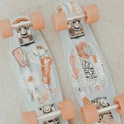 skateboard skate matchingskateboards peachy stickers aesthetic followeveryone shoutout comment follow like