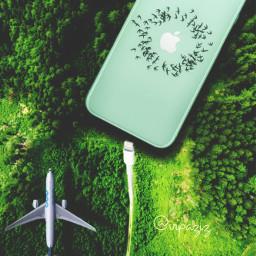 freetoedit iphone forest jungel apple