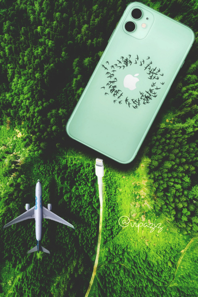 - - - - - - - - - - - - - - - - picture by : unsplash   #Iphone ##forest #jungel #apple #charger #Plane #green #birds #iphoneography #iphonex #iphone11 #iphone11promax   #iphone12 #iphone13 #charges  #sky  #Fromabove #appleiphone #applephone #iphonecharger